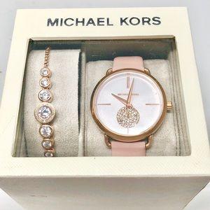 Michael Kors Watch and Bracelet Set NWT